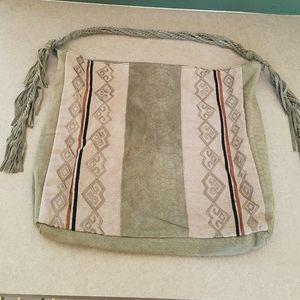 Free People/ large leather Boho bag